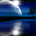 3D Moonlight Live Wallpaper icon