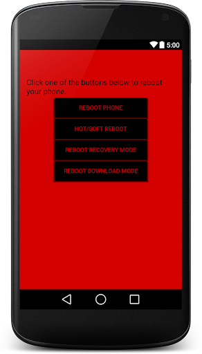 Reboot Droid [ROOT]