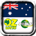 Check OZLotto Pools Free icon