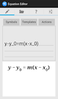 Screenshot of Equation Editor