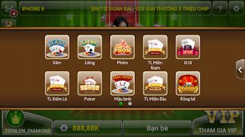 Screenshot of Tien len mien nam dem la