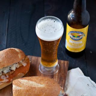 Drunken Chipotle Chicken Parmesan Sandwich