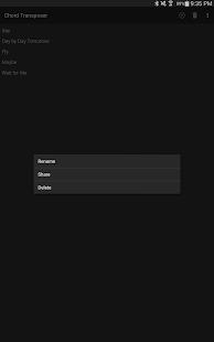 Chord Transposer - screenshot thumbnail