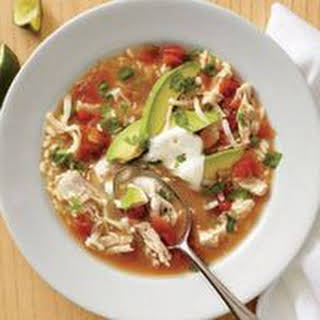 Mexican Chicken-and-Rice Soup.