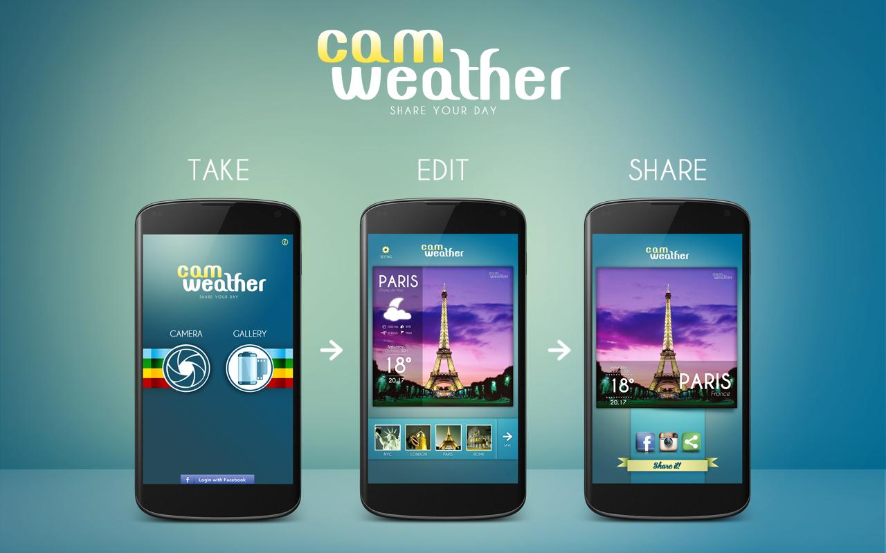 CamWeather - screenshot