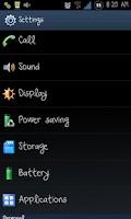 Screenshot of Galaxy Font Pack 1