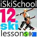 12 Ski Lessons logo