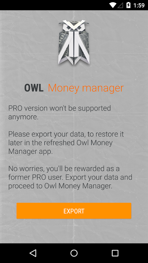 Owl Exporter - screenshot