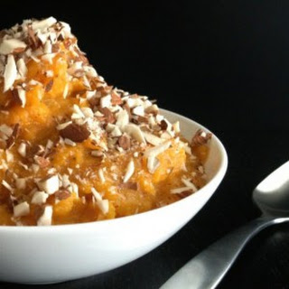 Puréed Butternut With Almonds