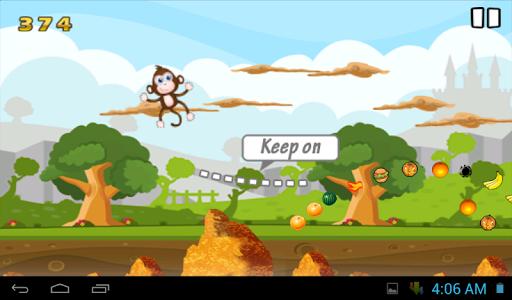 猴子香蕉跳線