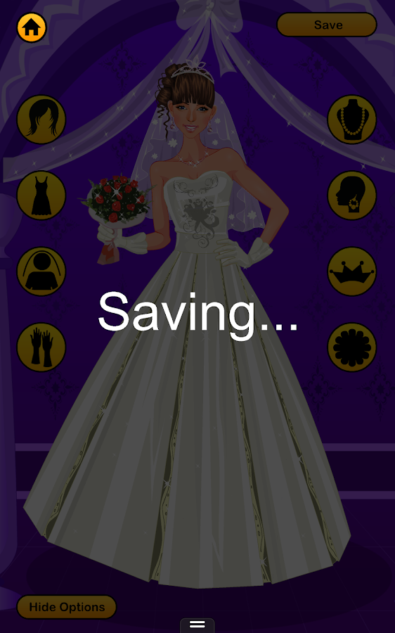 Wedding dress up game android apps on google play for Dress up games wedding