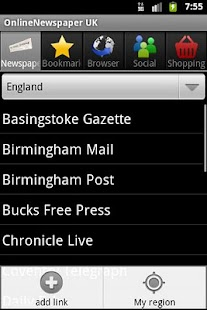 OnlineNewspaper UK - screenshot thumbnail