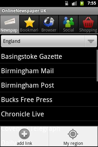 OnlineNewspaper UK - screenshot