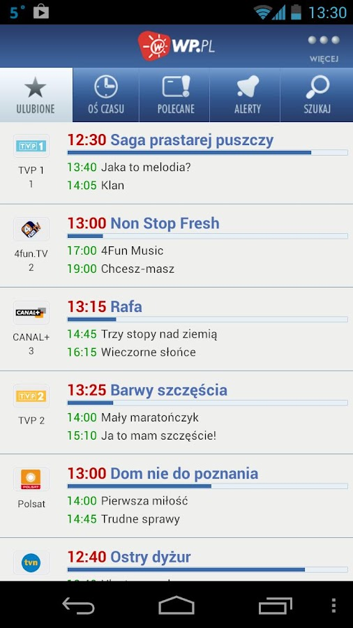 Program TV - screenshot