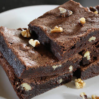 Chocolate Brownie No Butter Recipes.