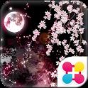 枝垂桜 for[+]HOMEきせかえテーマ logo