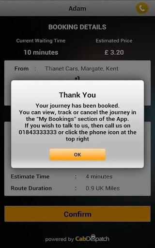 A2B Cabs Taxi Booker