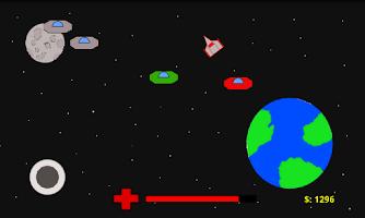 Screenshot of Alien Invaders 2D