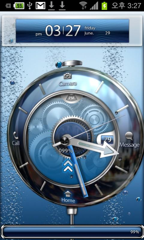Tia Lock [Theme Locker screen] - screenshot