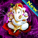 Ganesh Ji HD Live Wallpaper icon