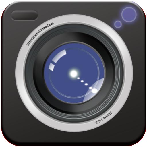 完全無音ビデオカメラ(スクリーンオフ録画でストーカー対策に) 媒體與影片 App LOGO-APP試玩
