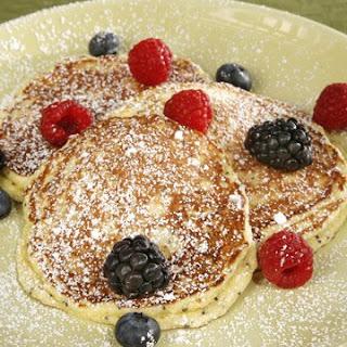 Four Seasons' Lemon-Ricotta Poppy Seed Pancakes