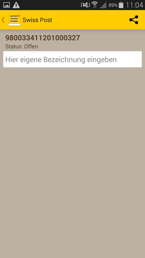 app der schweizerischen post android apps auf google play. Black Bedroom Furniture Sets. Home Design Ideas