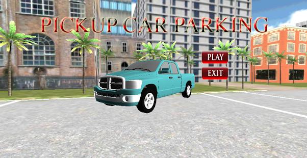 皮卡車停車3D