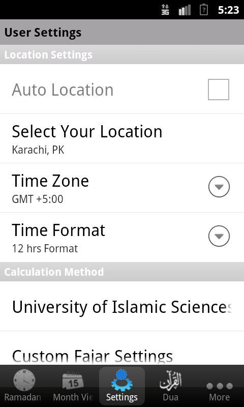 Ramadan Times- screenshot