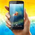Goldfish in Phone LWP icon
