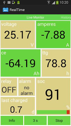 Victron BMV Monitor
