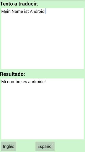 玩旅遊App|Spanisch Englisch Übersetzer免費|APP試玩