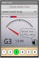 Screenshot of Free Guitar Tuner