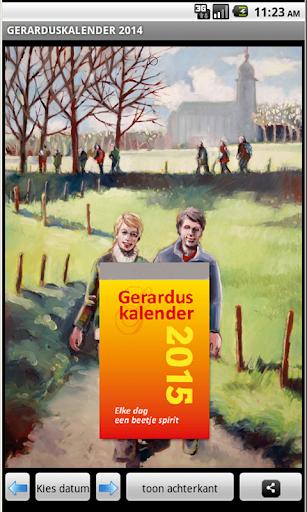 Gerarduskalender 2015