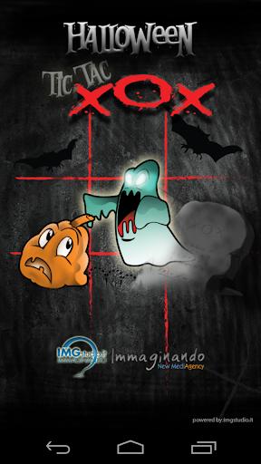 Halloween Tic Tac XOX