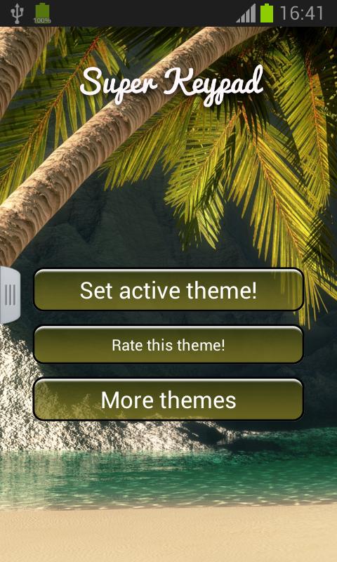 Super Keypad - screenshot