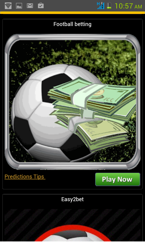 Sports Bet - screenshot