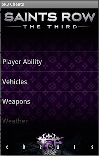 Saints Row 3 Cheats! - screenshot thumbnail