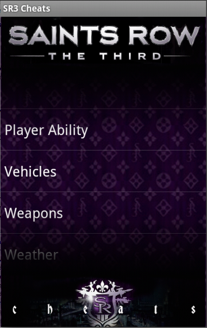 Saints Row 3 Cheats! - screenshot