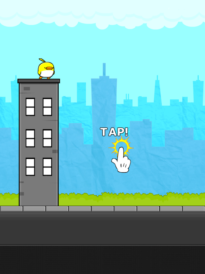 City Bird Flyer - screenshot