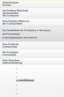 Código do Consumidor Brasil - screenshot thumbnail