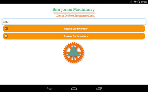 Ben Jones Machinery- screenshot thumbnail