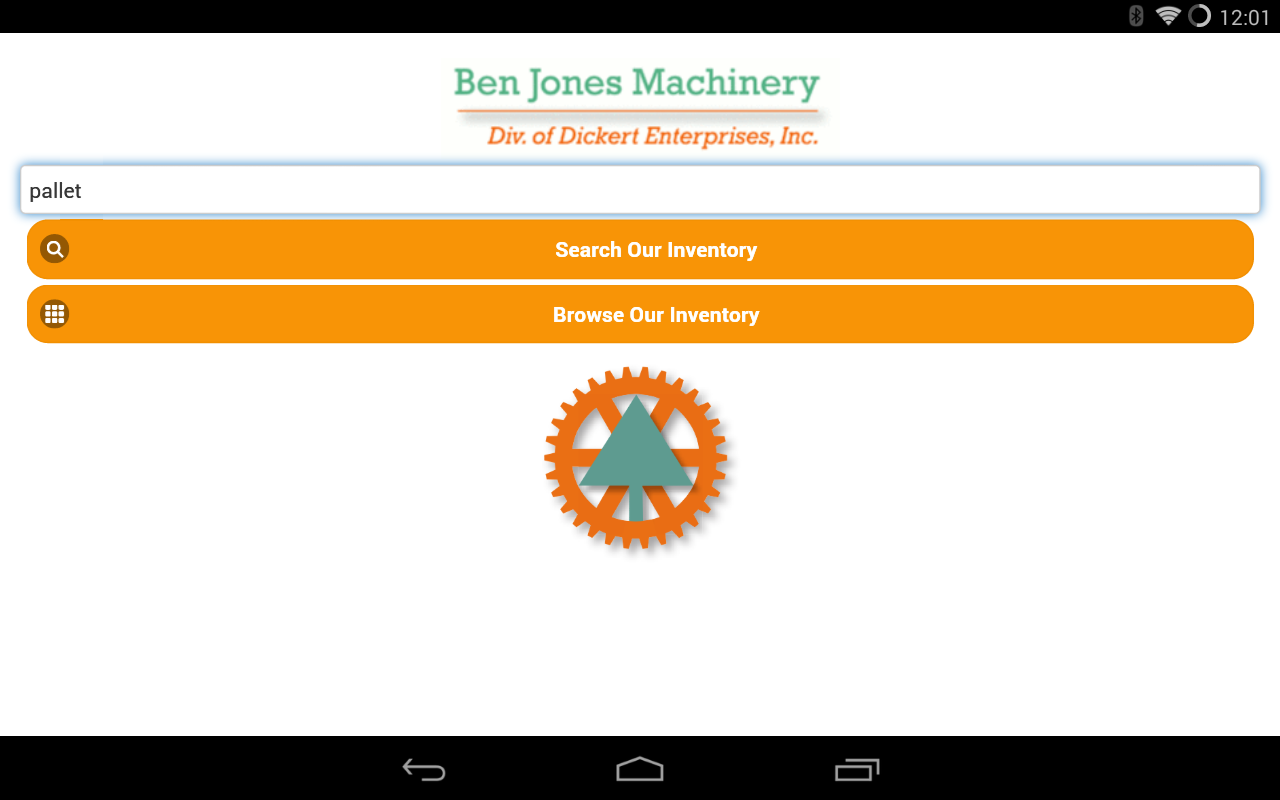 Ben Jones Machinery- screenshot