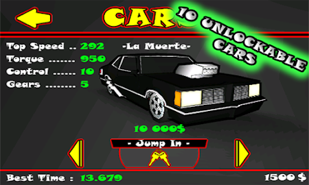 Street Drag 3D : Racing cars Screenshot 13