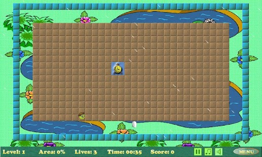 Xonix- screenshot thumbnail