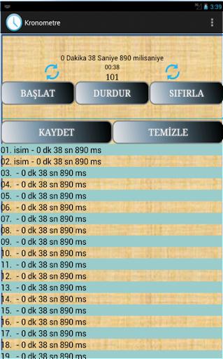 【免費工具App】Kronometre-APP點子