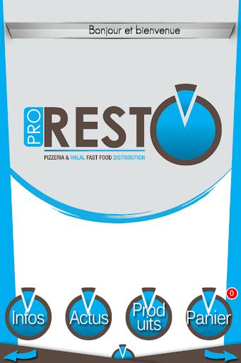 Pro Resto Halal Fast Food