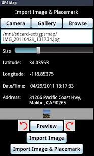 GPS Map- screenshot thumbnail