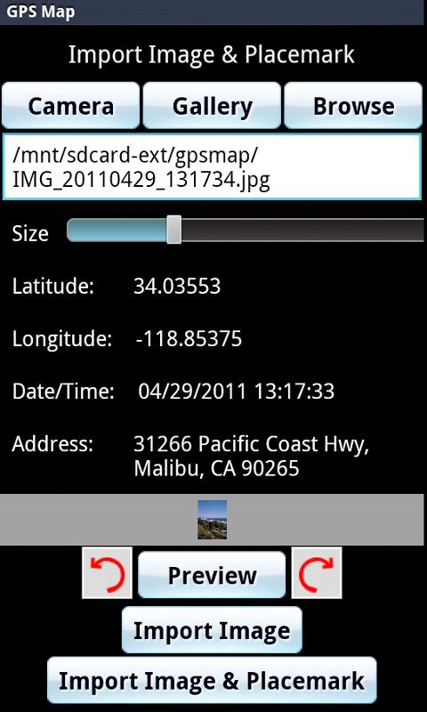 GPS Map- screenshot