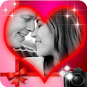 romantic true love photo frame
